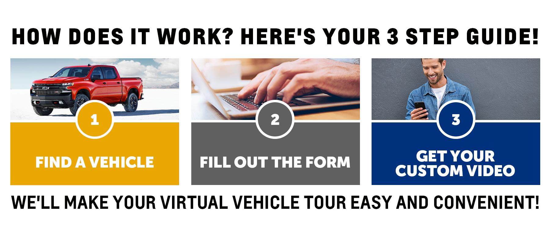Schedule Virtual Vehicle Tour