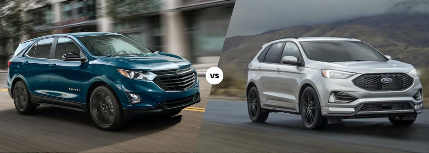 2021 chevy equinox vs. 2021 ford edge