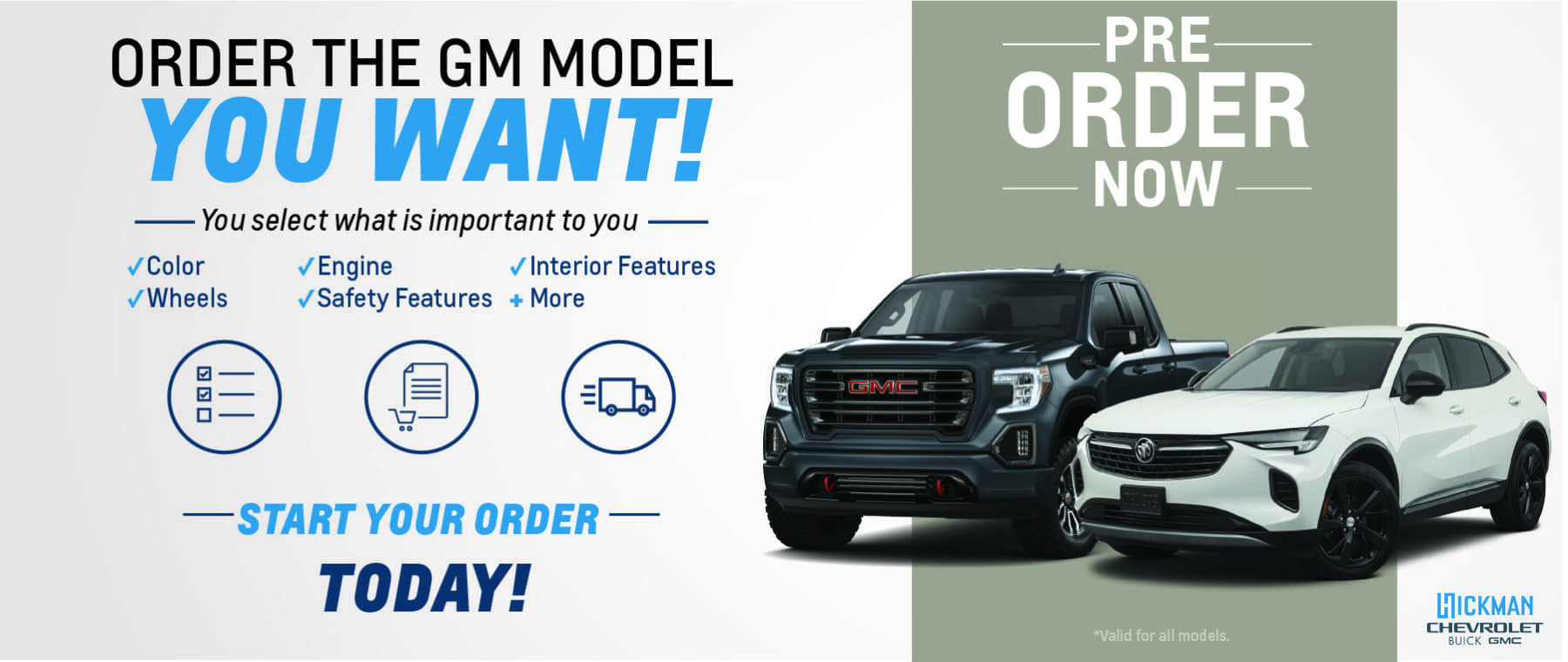 Pre-order your 2021 – GM – Web Banner