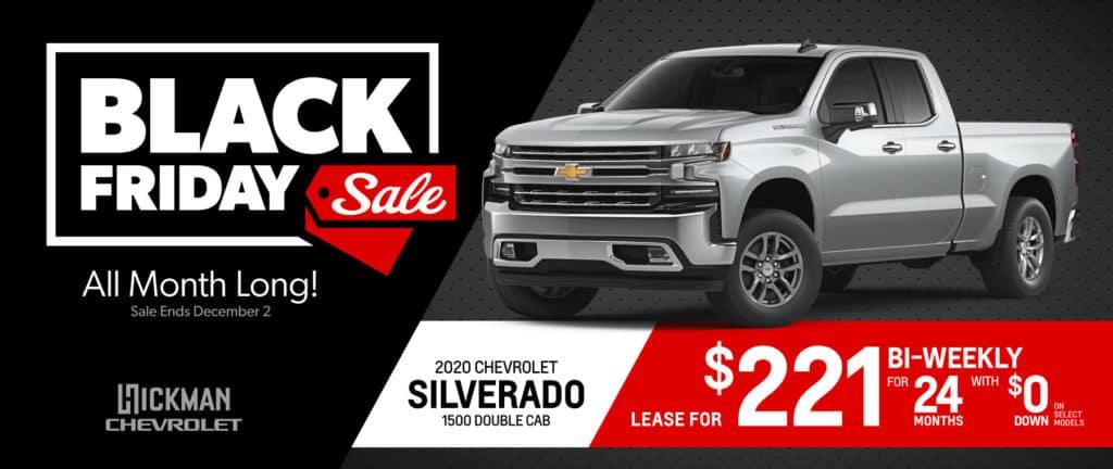 2020 Chevrolet Silverado November Offer