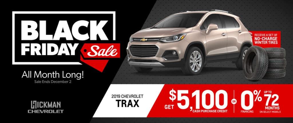 2019 Chevrolet Trax November Offer