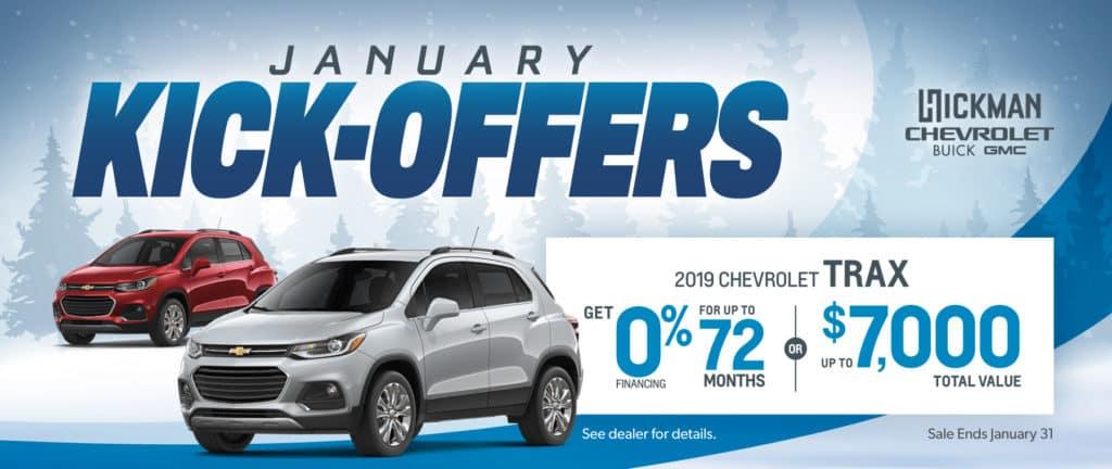 2019 Chevrolet Trax Offer