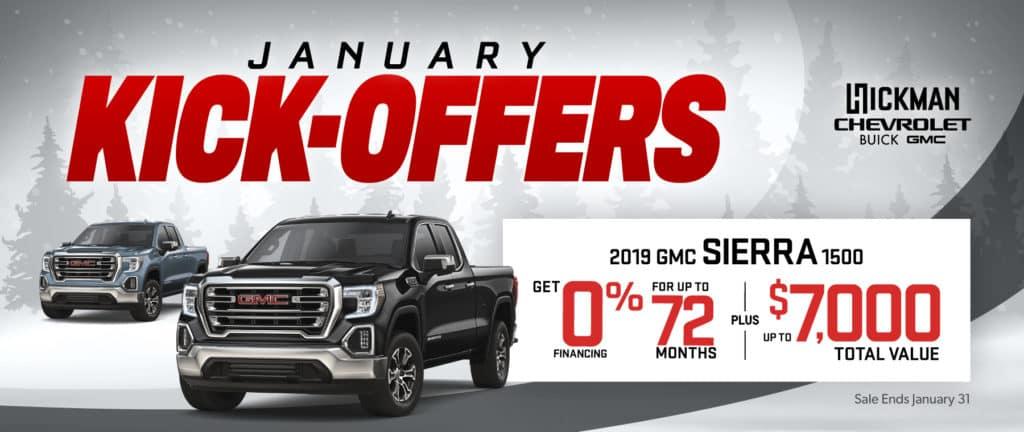 2019 GMC Sierra 1500 Offer