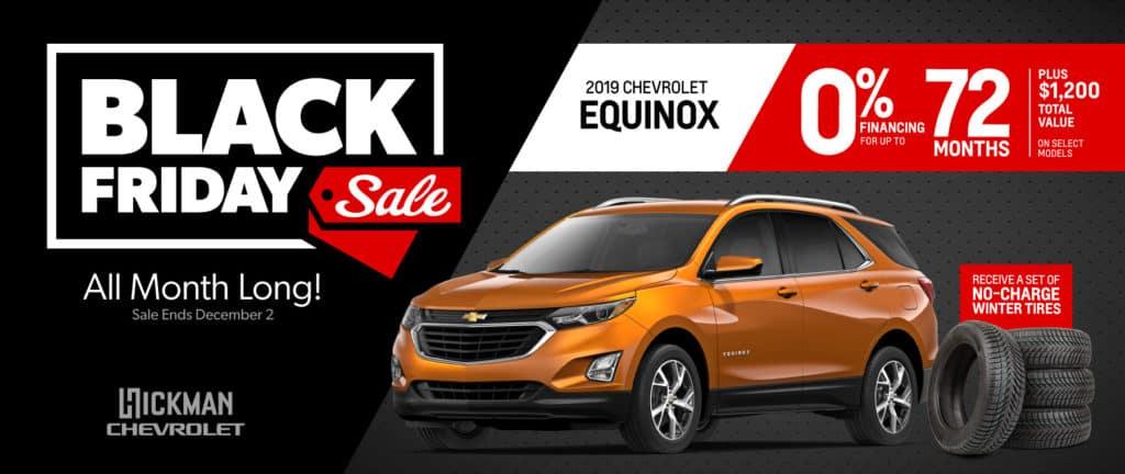 2019 Chevrolet Equinox November Offer