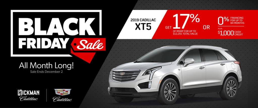 2019 Cadillac XT5 November Offer