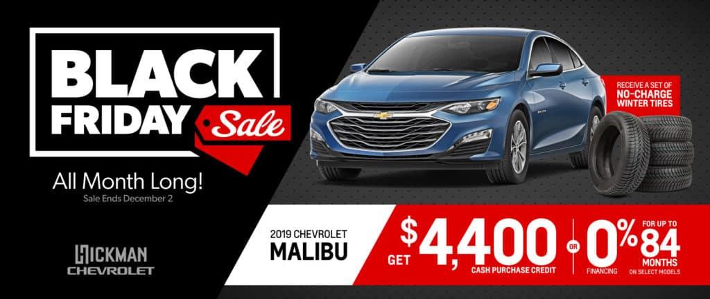 2019 Chevrolet Malibu November Offer