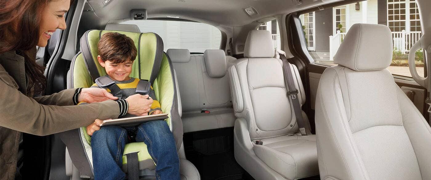2020 Honda Odyssey Child Safety