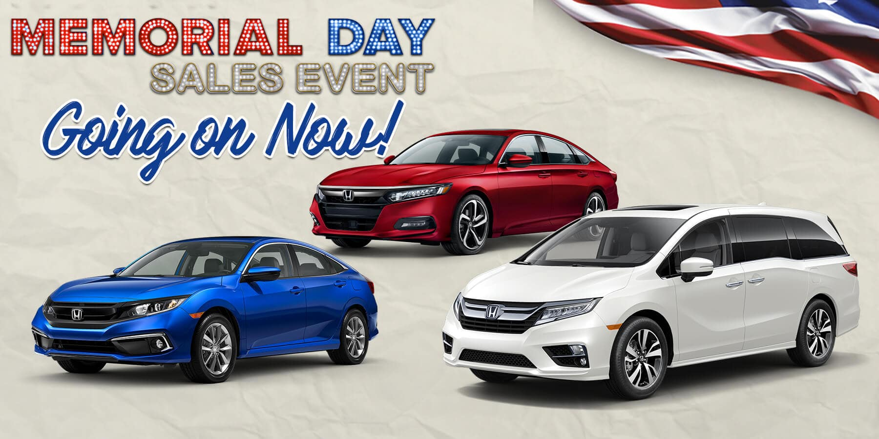 Memorial Day Sales Event Going on Now