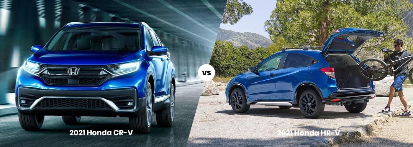 2021 Honda CR-V vs Honda HR-V Comparison