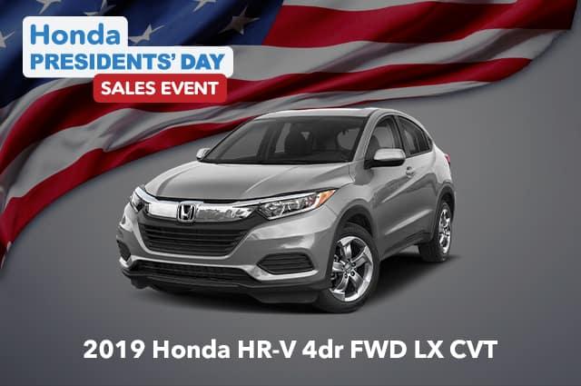 New 2019 Honda HR-V 4dr Front-wheel Drive LX (CVT)