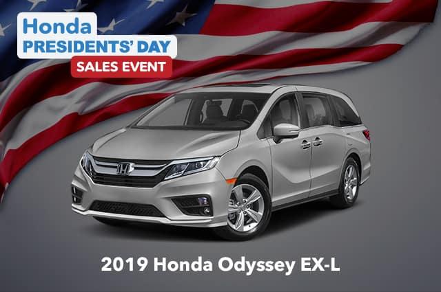 New 2019 Honda Odyssey EX-L