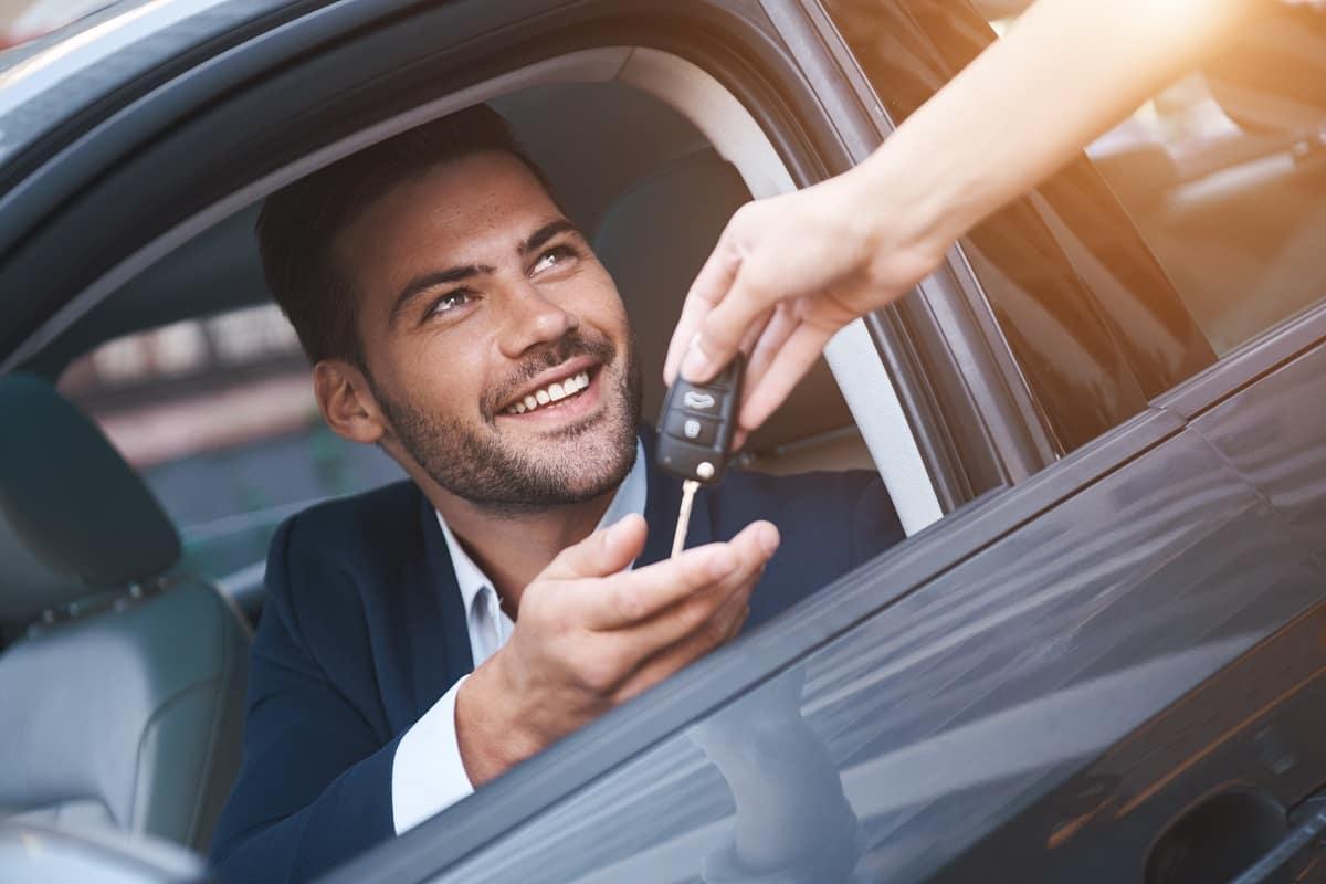 Car Keys Given to Gentleman