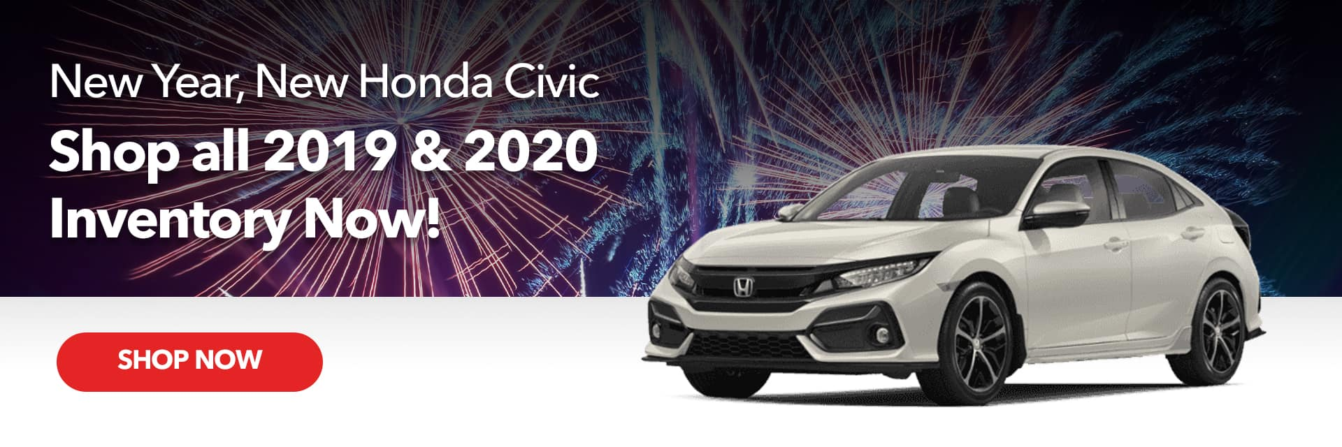Link to January Offers - Honda Civic