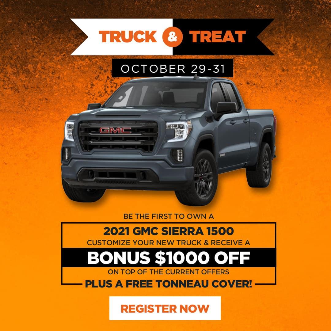 Truck & Treat Promo