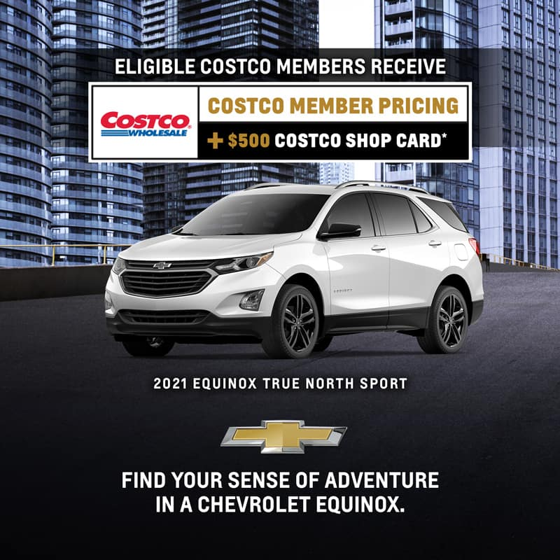Find your sense of adventure in a Chevrolet Equinox