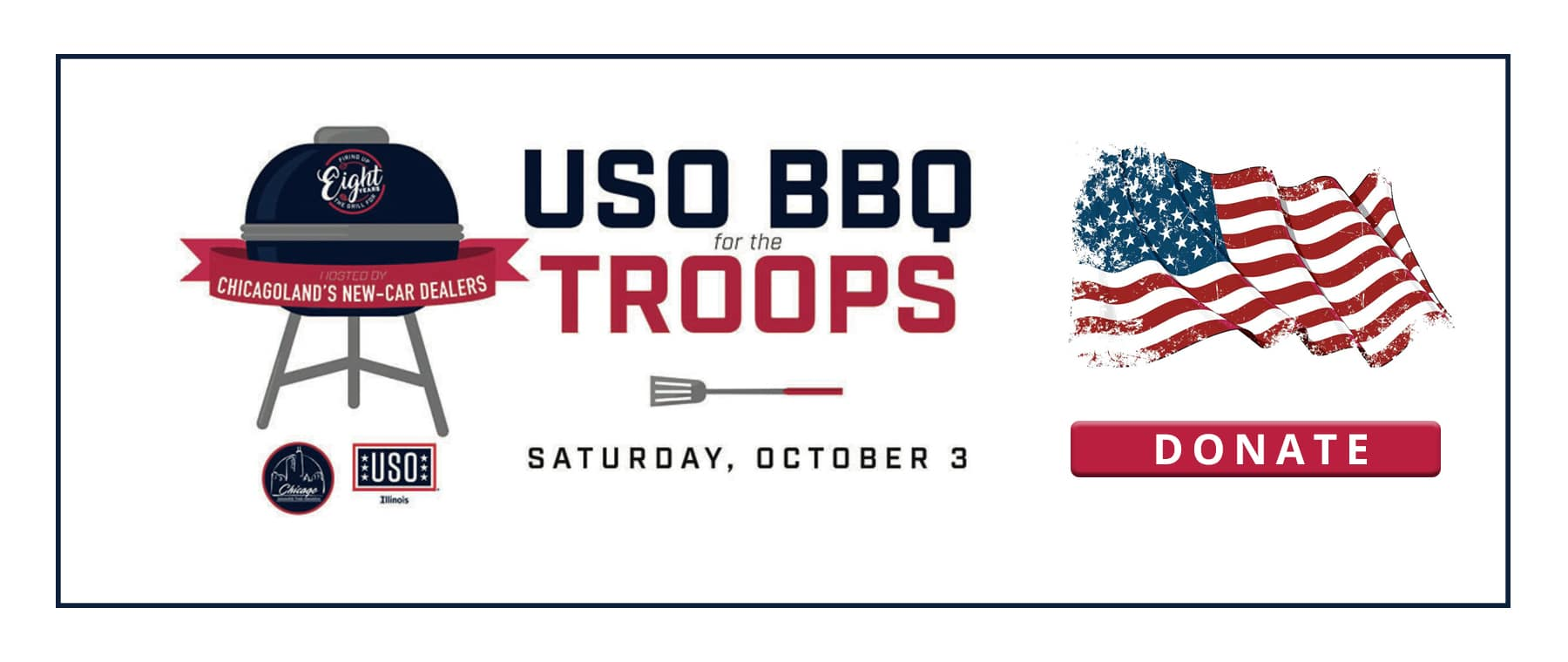 Jack Phelan USO BBQ for the Troops 1