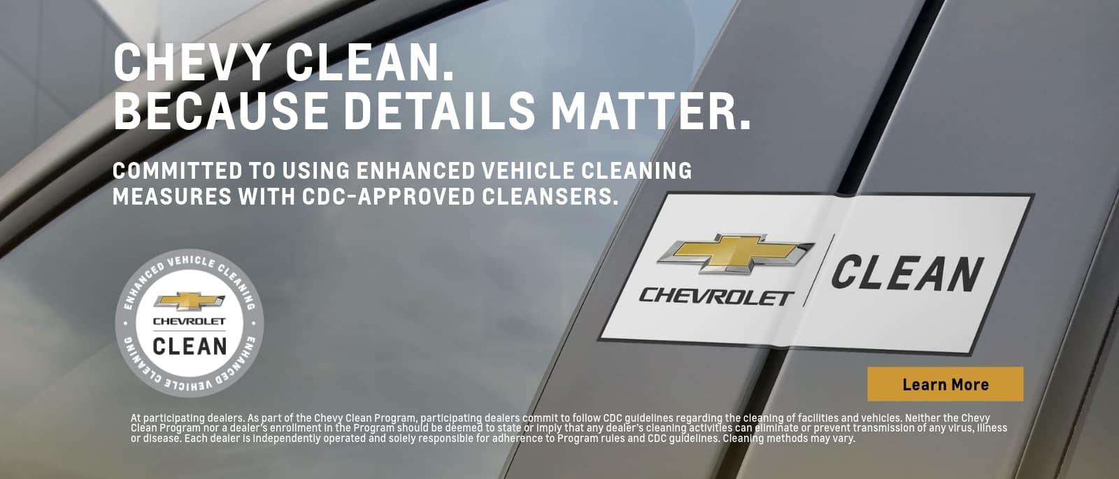 Clean Details Matter