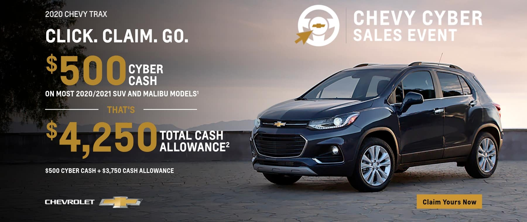 Cyber Sales on the Chevy Trax