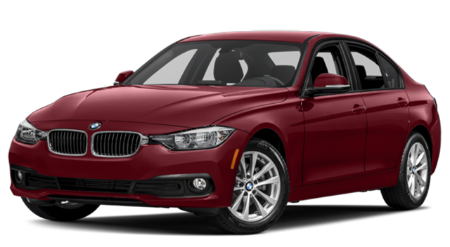 2018 BMW 3 Series Red