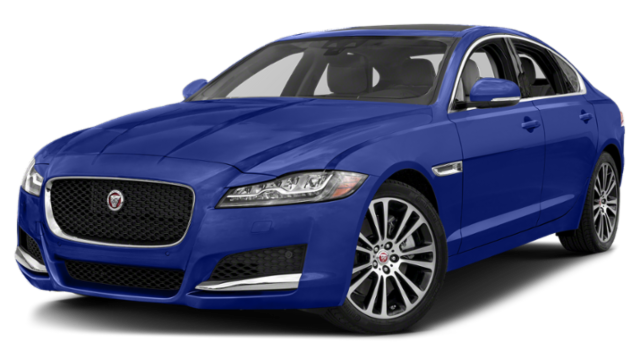2019 Jaguar XF Blue