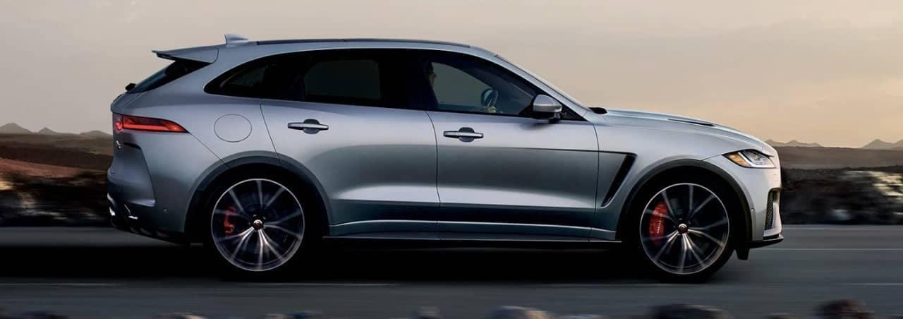 2020 Jaguar F-PACE SVR profile
