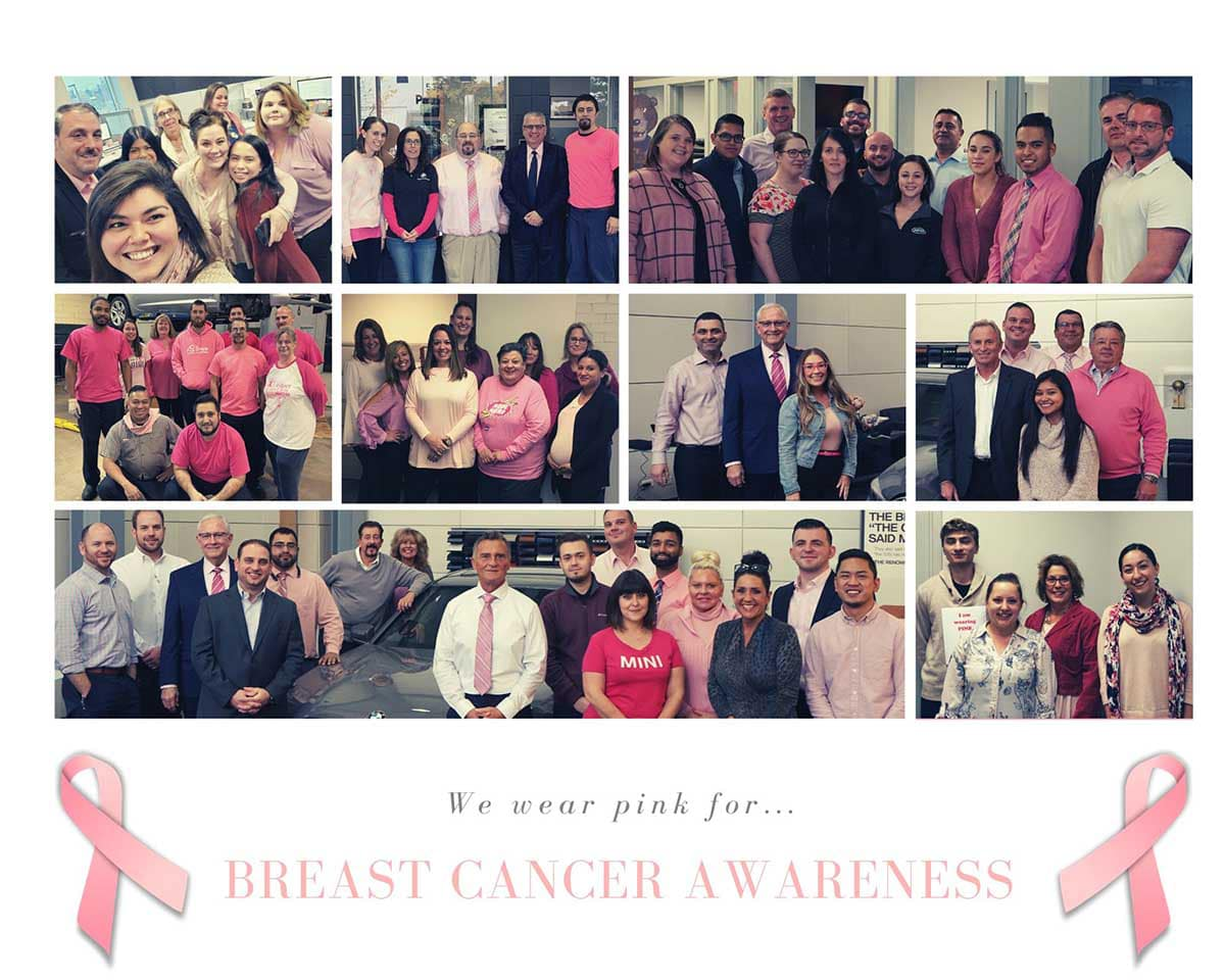 Jaguar of Naperville Supports Breast Cancer Awareness Month