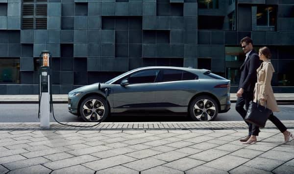 2019 Jaguar I-PACE on charger