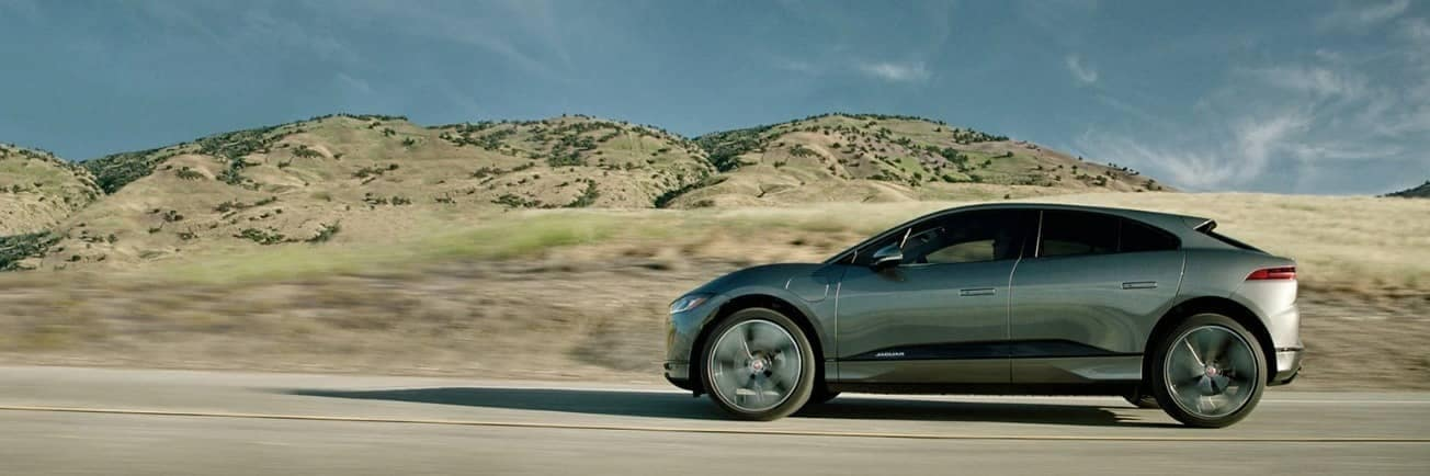 exterior of 2020 Jaguar I-PACE