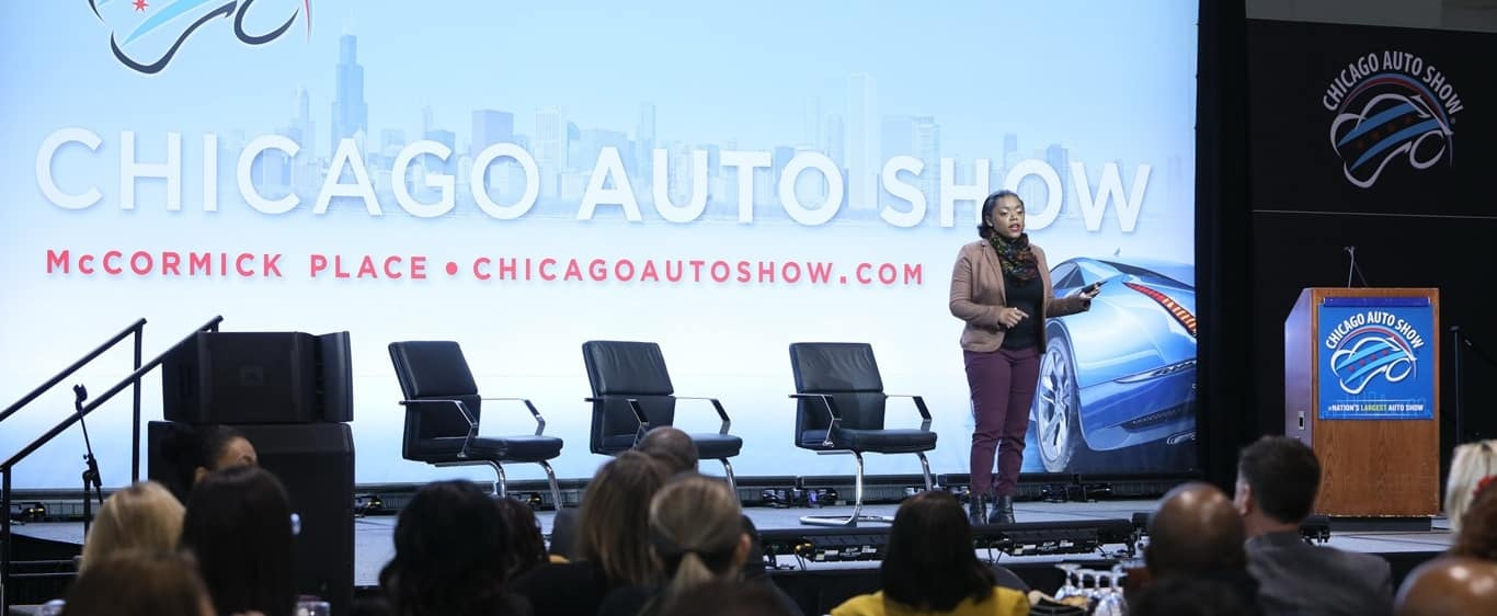 2020 Chicago Auto Show Stage