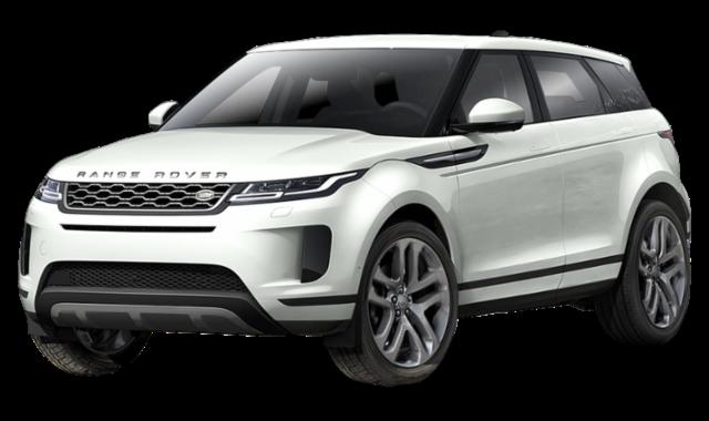White 2020 Range Rover Evoque