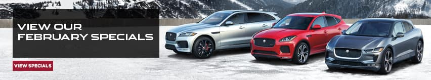 View Our February Specials at Jaguar of Naperville in Naperville, IL.