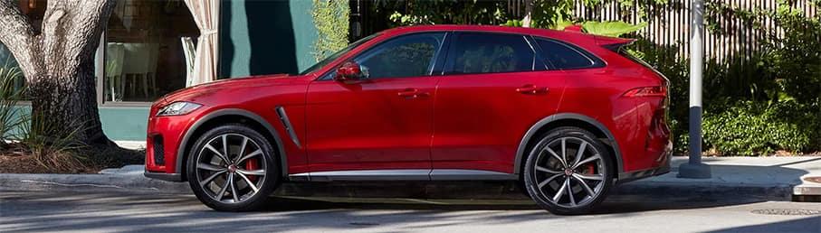 2020 Jaguar F-PACE Red