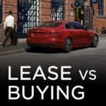 Leasing vs Buying at Jaguar of Naperville