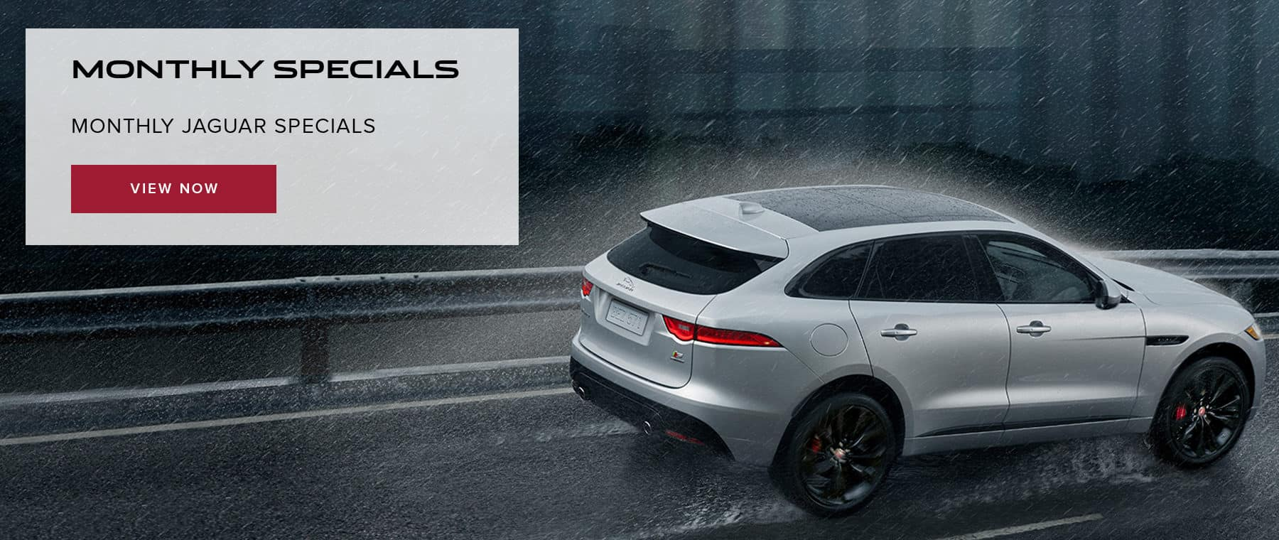 Monthly Specials at Jaguar of Naperville