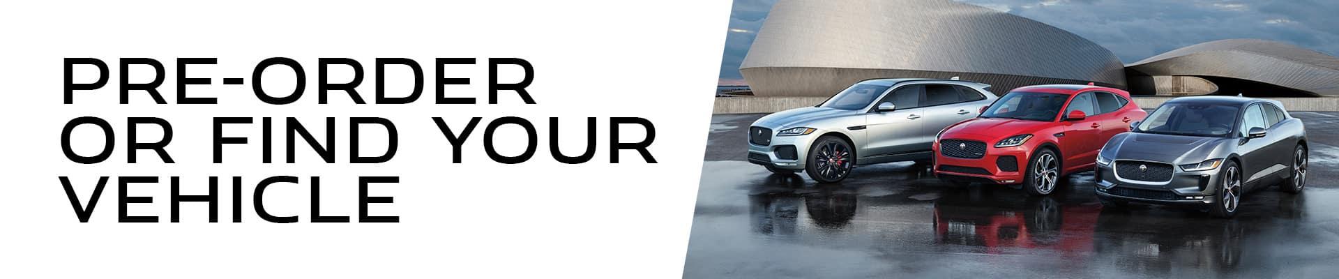 Pre-Order or Find Your Vehicle at Jaguar of Naperville near Naperville, IL