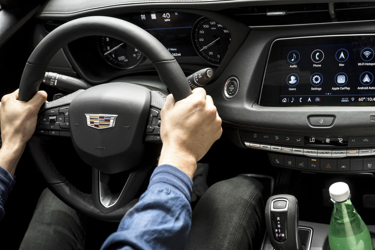 Style and Performance Features of the 2019 Cadillac XT4 at Jim Coleman Automotive | The dashboard of the 2019 Cadillac XT4