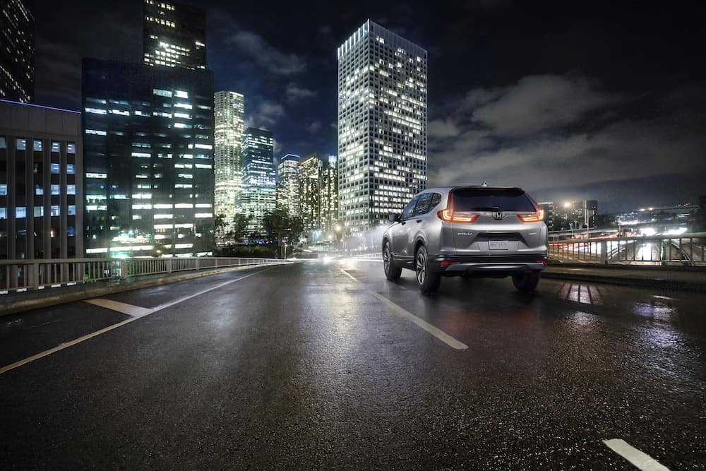 2019 Honda CR-V features at Jim Coleman Automotive dealerships in Maryland | The rear end of the Honda CR-V