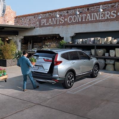 2019 Honda CR-V features at Jim Coleman Automotive dealerships in Maryland | Honda CR-V trunk release sensor