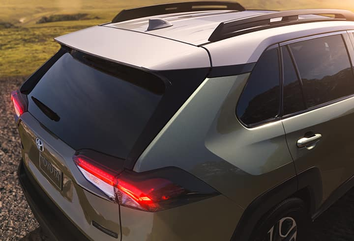 Performance features of the 2019 Toyota RAV4 at Jim Coleman Automotive | 2019 Toyota RAV4 tail end