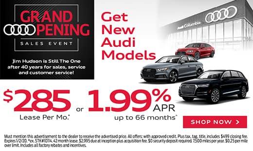 New Audi Models