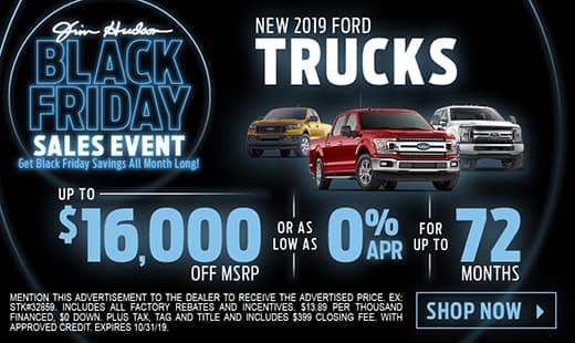 New 2019 Ford Trucks
