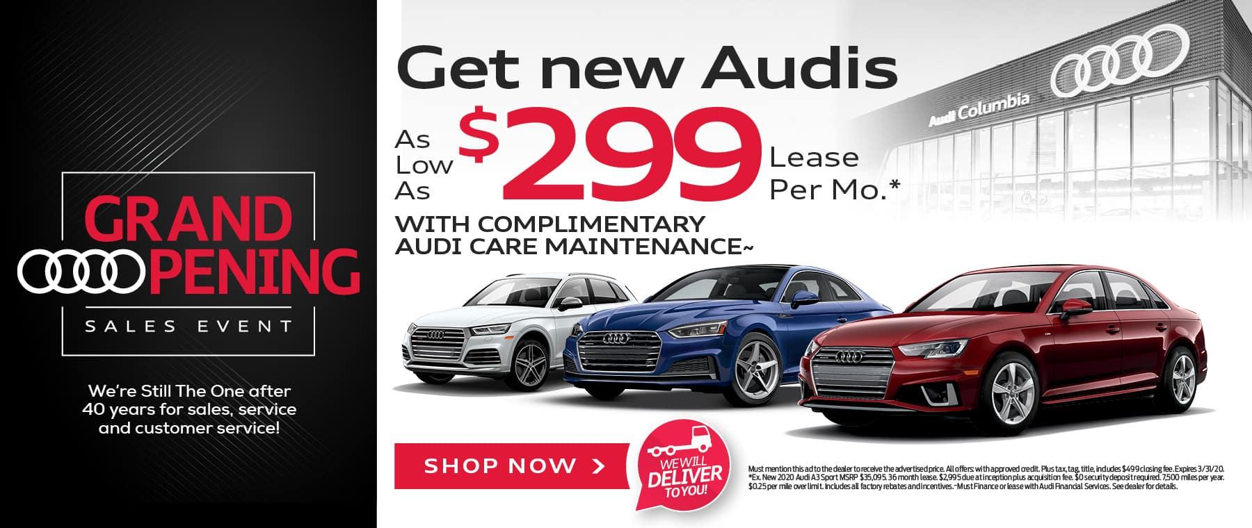 Get New Audis