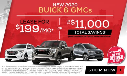 Deals on new Buicks and GMCs