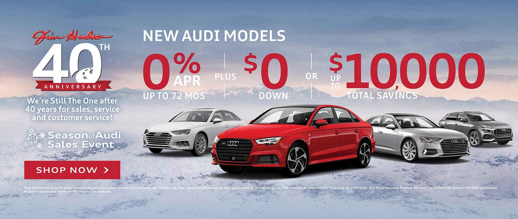 New Audi Vehicles