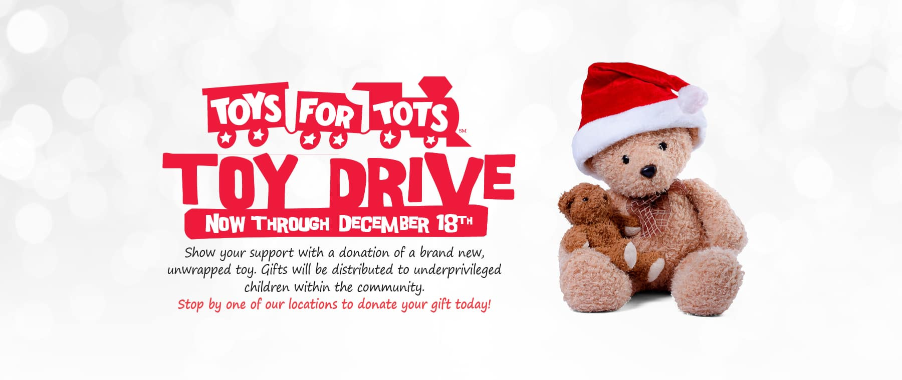 Toy Drive - Toys for Tots
