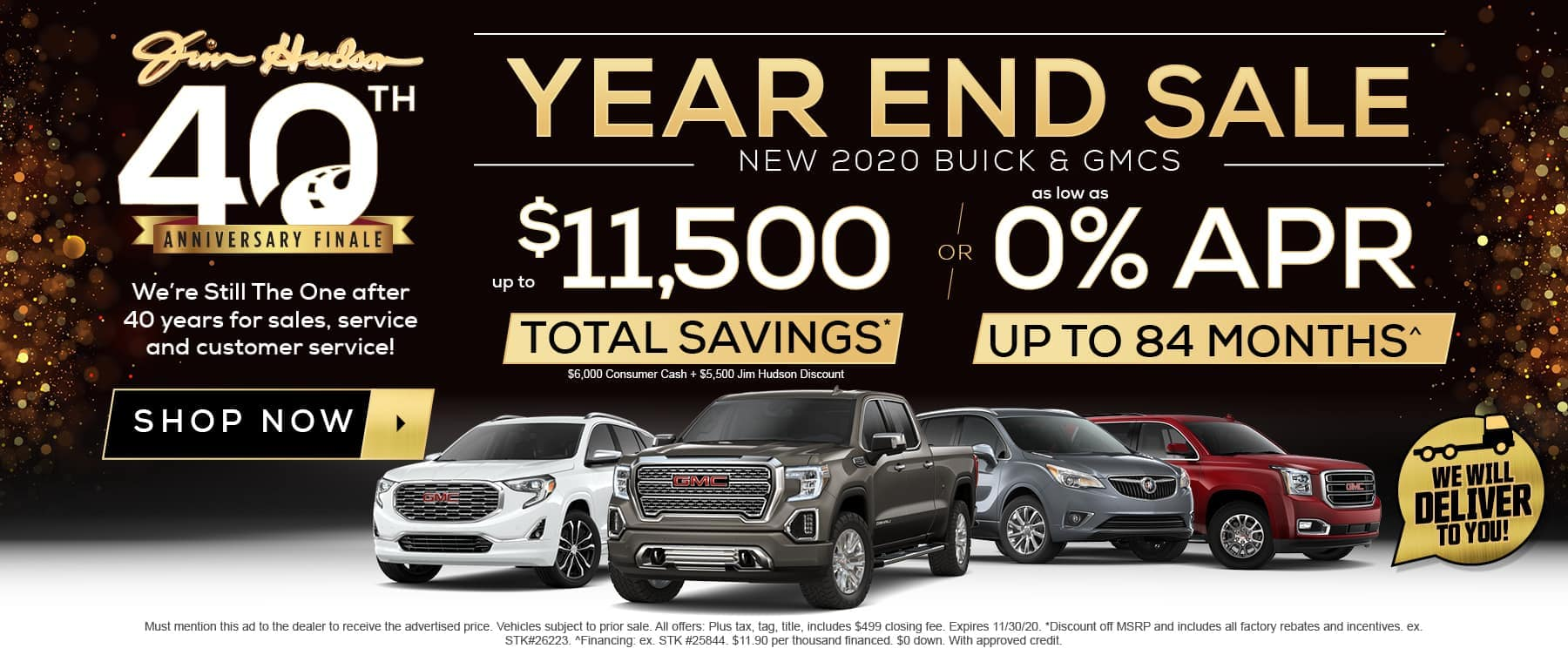 JHS - Year End Sale
