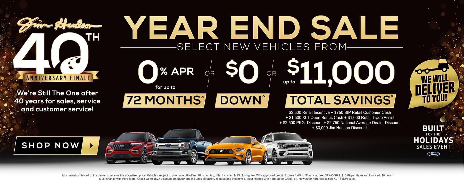 JHF - Year End Sale