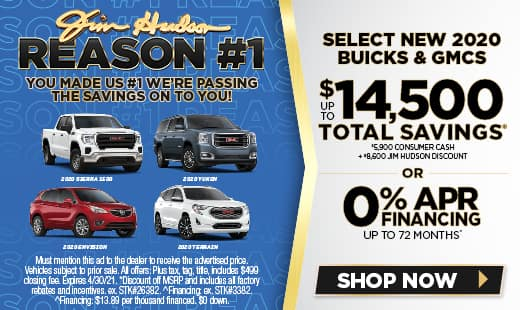 New GMC & Buick Offers