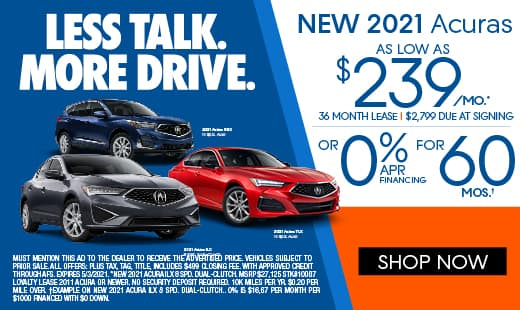 New Acura Augusta Monthly Specials