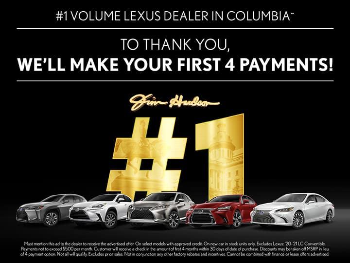 New Lexus Monthly Car Specials